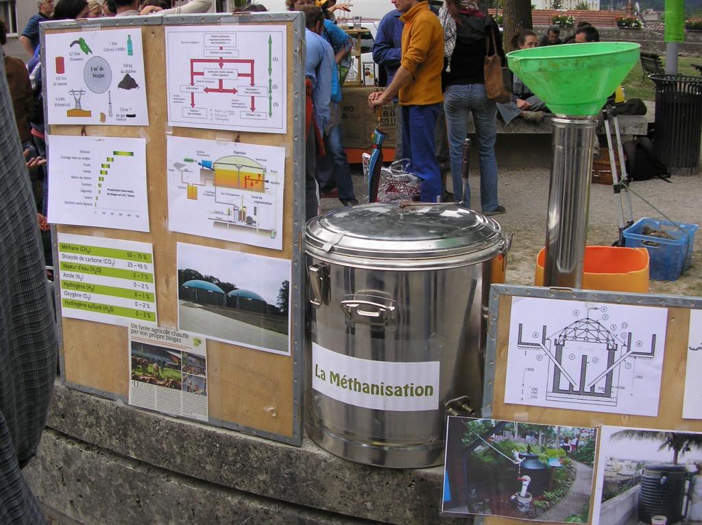 Démo de bio-gaz